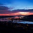 Amazing Shetland Sky by Gary Buchan