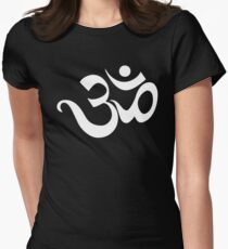 Om Symbol Women's Fitted T-Shirt
