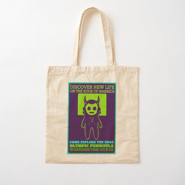 Explore Olympic Peninsula Cotton Tote Bag