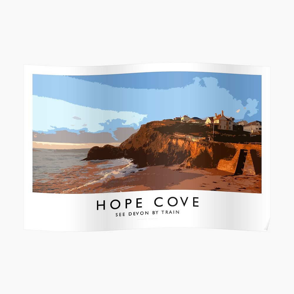 Hope Cove (Railway Poster) Poster