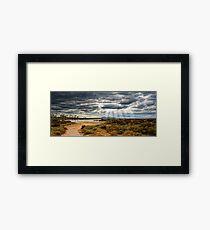 Avalon - HDR, Australia Framed Print