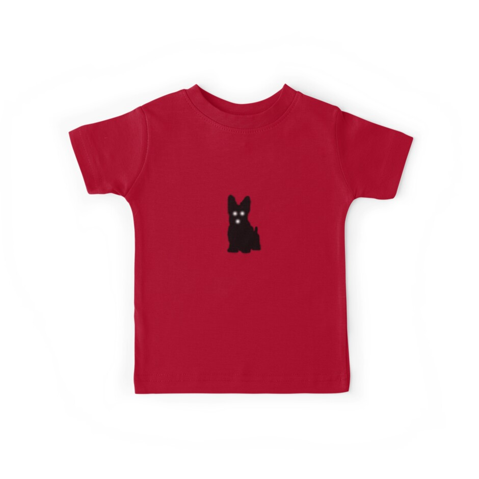 Freaky but Cute Scotty Dog Terrier T-Shirt or Sticker by deanworld