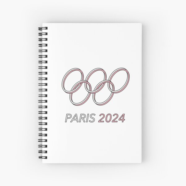 Paris 2024 Spiral Notebook