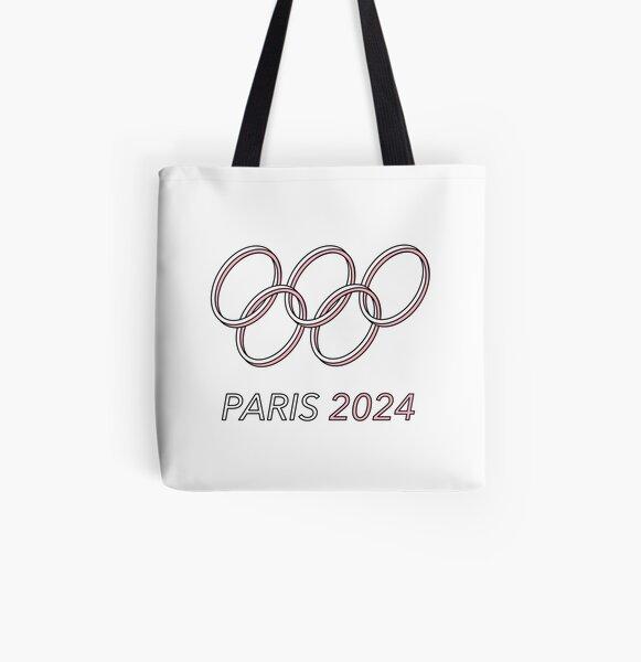 Paris 2024 All Over Print Tote Bag