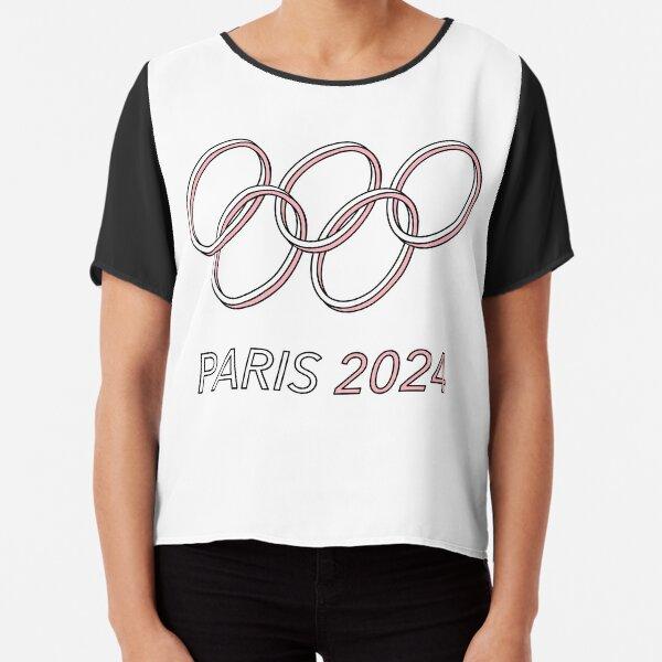 Paris 2024 Chiffon Top