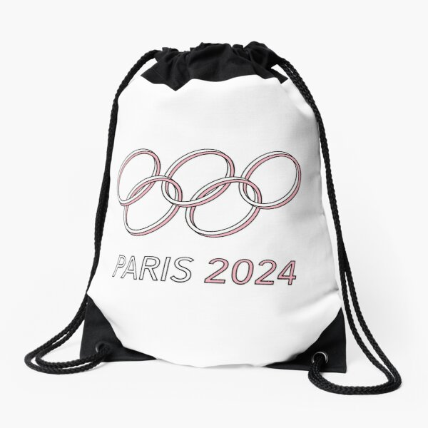 Paris 2024 Drawstring Bag