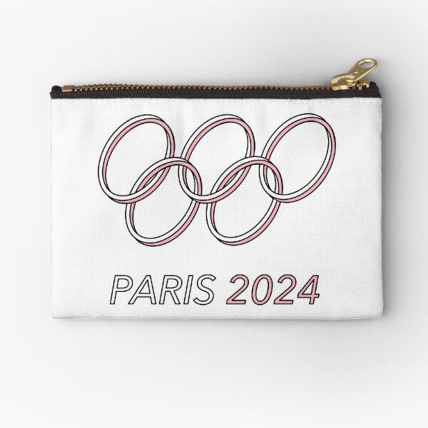 Paris 2024 Zipper Pouch