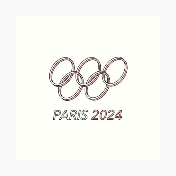 Paris 2024 Art Print