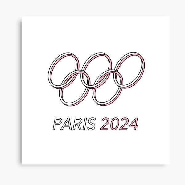 Paris 2024 Canvas Print