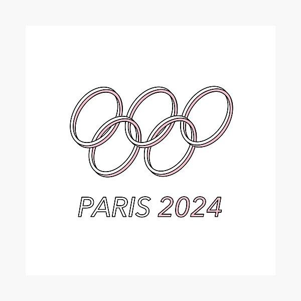 Paris 2024 Photographic Print
