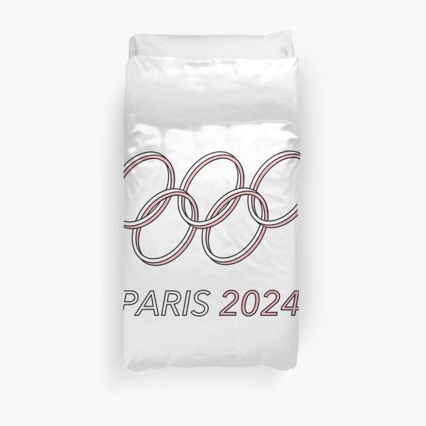 Paris 2024 Duvet Cover