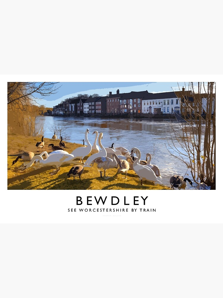 Bewdley (Railway Poster) by andrewroland