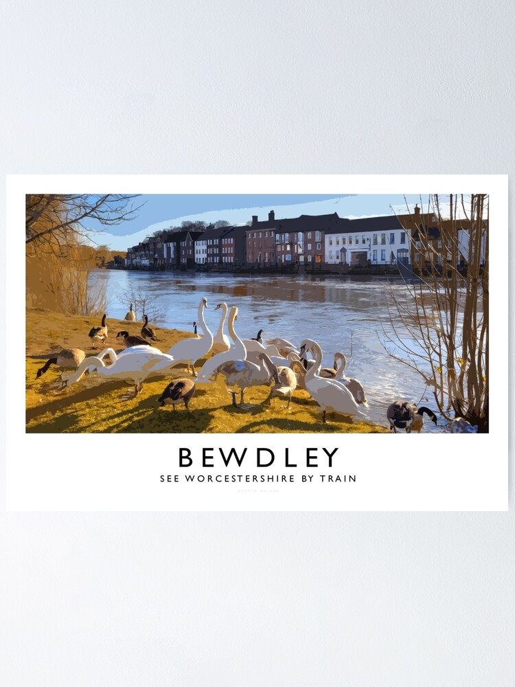Alternate view of Bewdley (Railway Poster) Poster