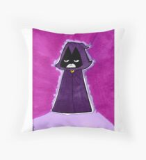 Raven from Teen Titans Go Throw Pillow