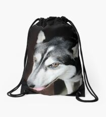 Looking For Grandma Drawstring Bag