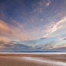 Evening on Burnham Beach by Robin Whalley
