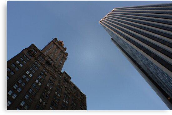 NYC Steel Giants by NickSpiros