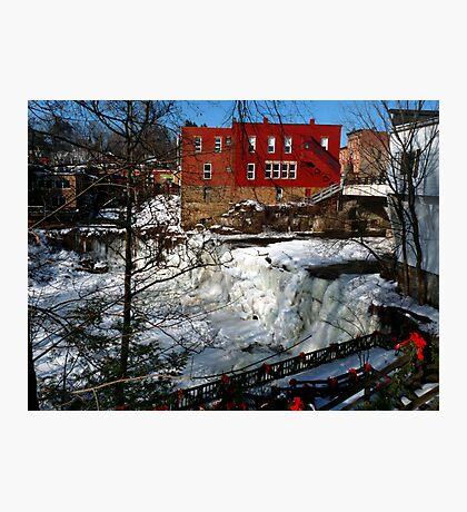 Chagrin Falls - Ohio Photographic Print
