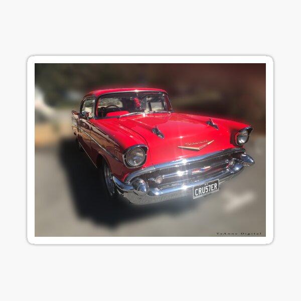 Chevrolet Mens 1957 Bel Air Grille Pullover Hoodie