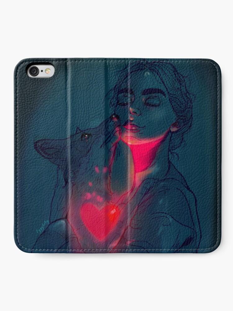 Alternate view of Glowing in the dark iPhone Wallet