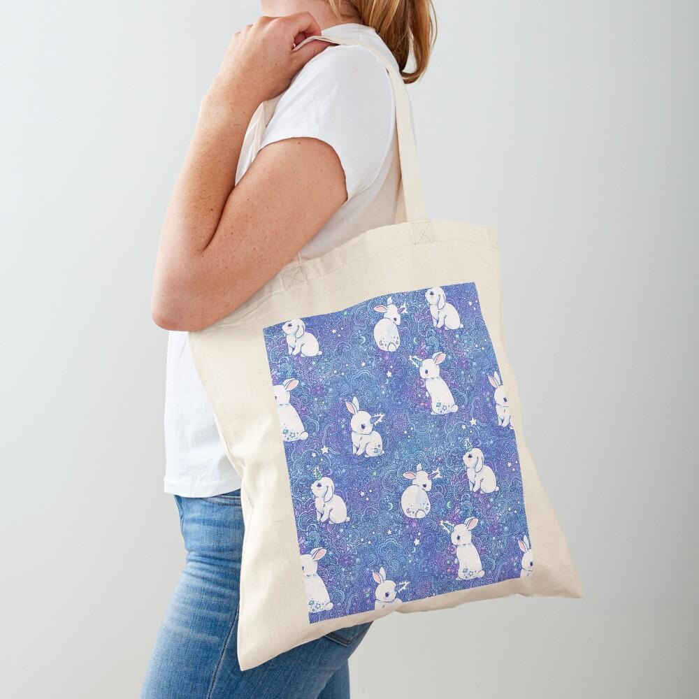 Unicorn Bunny Pattern Tote Bag