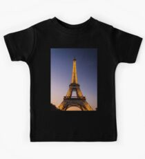 Eiffel Tower and sunset (2) Kids Clothes