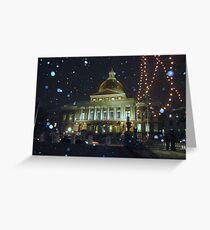 Massachusetts State House Greeting Card