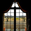 Window view Charlottenburg Palace - Berlin Germany by mikequigley