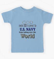 God, Beer & the U. S. Navy Kids Clothes