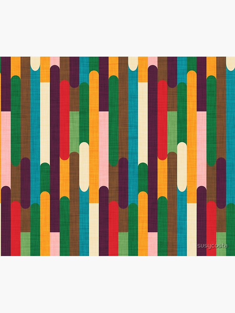 Retro Color Block Popsicle Sticks by susycosta