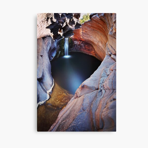 Spa Pool - Hamersley Gorge  Karijini N.P. Canvas Print