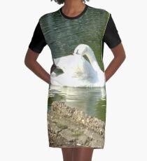 Merch #46 -- Swan - Shot 4 Graphic T-Shirt Dress