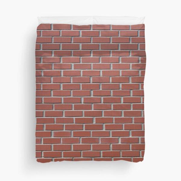 Bricks Wall Duvet Cover