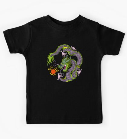 Chinese Dragon T Shirt Kids Clothes