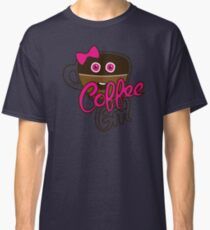 Cute Coffee GirlAddict Classic T-Shirt