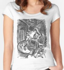 The Jabberwocky Women's Fitted Scoop T-Shirt