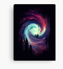 high in sky Canvas Print