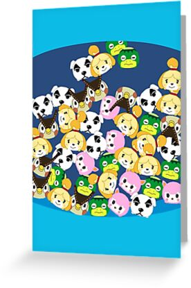 Animal crossing new leaf tsum tsums greeting cards by animal crossing new leaf tsum tsums by pirateprincess m4hsunfo Images