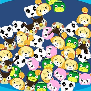 Animal Crossing New Leaf Tsum Tsums by pirateprincess