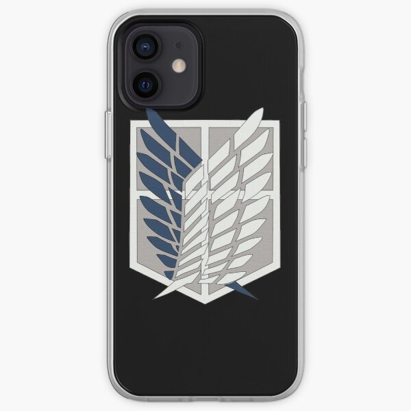 Attaque sur les ailes du titan de la liberté Coque souple iPhone