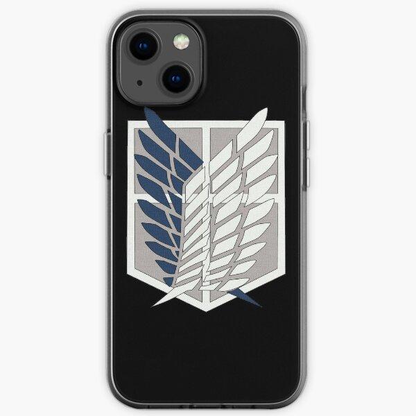 Ataque a Titan Wings of Freedom Funda blanda para iPhone