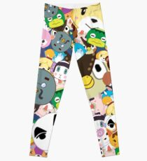 Animal Crossing New Leaf Tsum Tsum Pattern Leggings