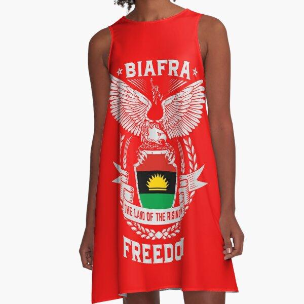 BIAFRA FREEDOM FLAG A-Line Dress