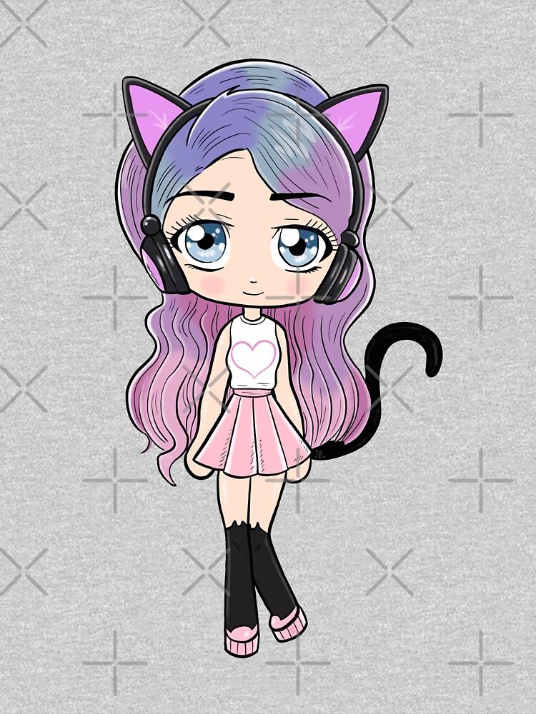 Cutie LDShadow Girl by TheBeatlesArt