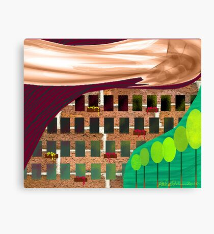 """City Living""  Canvas Print"