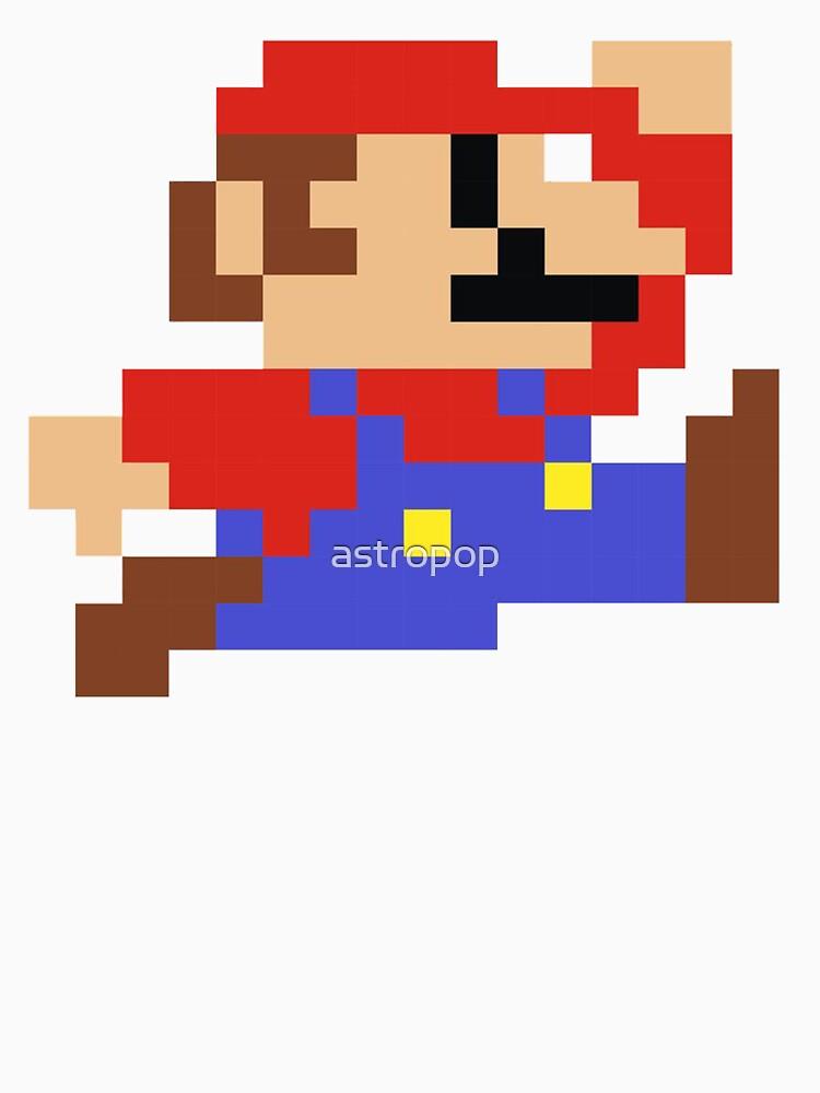 8-Bit Mario Nintendo Springen von astropop