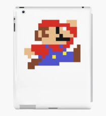 8-Bit Mario Nintendo Jumping iPad Case/Skin