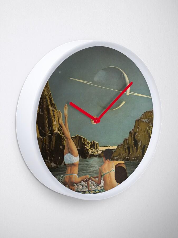 Alternate view of Serenade to Saturn Clock