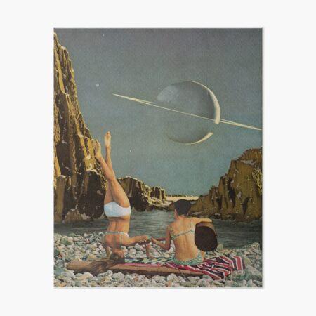 Serenade to Saturn Art Board Print