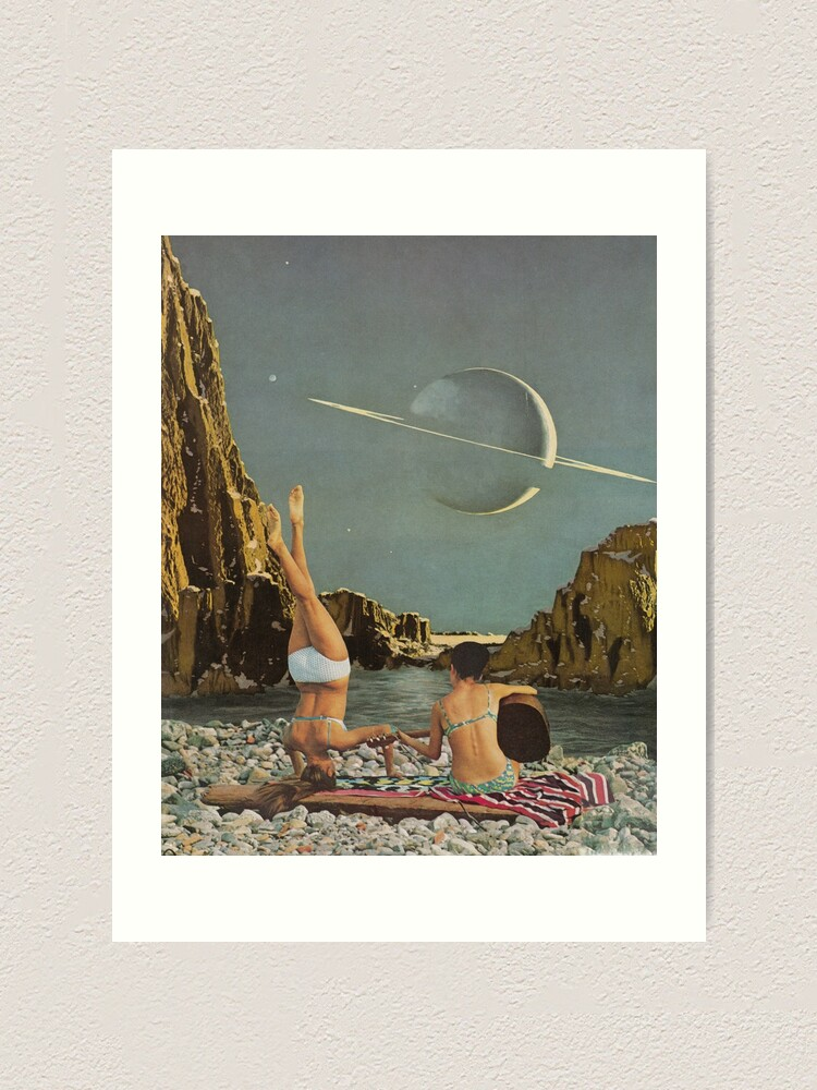 Alternate view of Serenade to Saturn Art Print